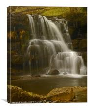 East Gill Upper Falls, Canvas Print