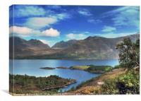 Loch Torridon, Canvas Print