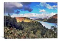 Loch Carron, Canvas Print