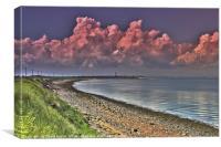 Spurn Peninsula Lighthouse, Canvas Print