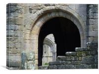 Abbey Arch , Canvas Print