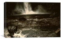Hardraw Falls, Canvas Print