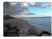 Crunila beach , Canvas Print