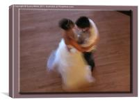 First Dance , Canvas Print