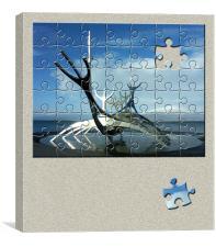 Puzzled, Canvas Print