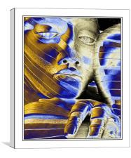 The Face, Canvas Print