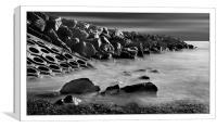 Rocky point, Canvas Print
