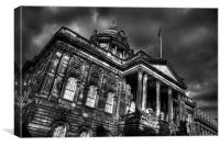 Town Hall Liverpool, Canvas Print