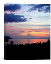 Lake Geneva , Canvas Print
