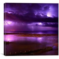 Electric Storm, Canvas Print