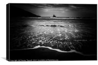 Broadhaven Beach, Pembrokeshire, Canvas Print