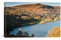 Autumn Colours - Lake Grasmere, Canvas Print
