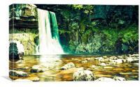 Ingleton Waterfall, Canvas Print