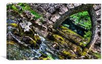 Water under the Bridge, Canvas Print