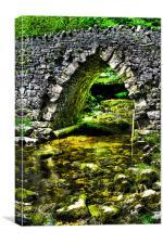 Mysterious Bridge, Canvas Print