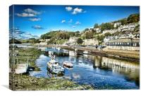 Looe, Cornwall, Canvas Print