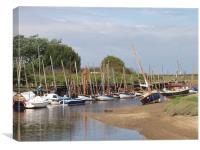 Blakeney quay, North Norfolk , Canvas Print