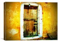 DOOR TO DESTINY , Canvas Print