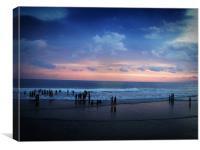 MYSTIC SEA, Canvas Print