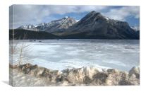 Lake Minnewanka , Canvas Print