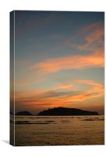 DEVBAGH ISLAND AT DUSK, Canvas Print