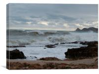 Stormy Seas On Costa Blanca