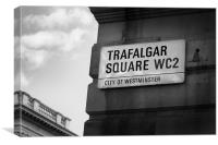Trafalgar Square, Canvas Print