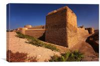 Bahrain Fort, Canvas Print