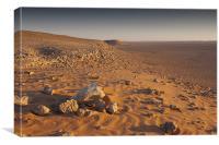 Saudi Arabian desert, Canvas Print