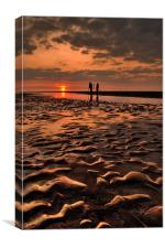A Photographers Sunset, Canvas Print