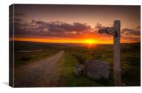 The Pennine Way, Canvas Print