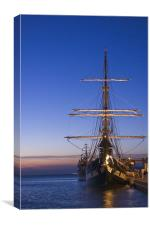 Sailing vessel, Canvas Print