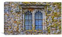 Hever Castle Window, Canvas Print