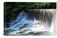 Aberdulais Waterfalls, Canvas Print