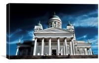 Helsinki Cathedral, Canvas Print