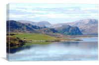 Scottish Highlands 2, Canvas Print