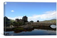 Eilean Donan castle 2, Canvas Print