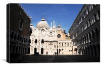 Doge's Palace Venice, Canvas Print