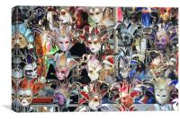Venetian Mask, Canvas Print