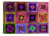 colours , Canvas Print