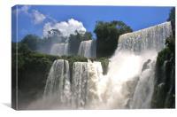 Iguzau Falls, Canvas Print