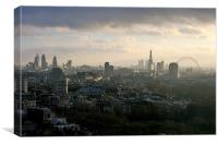 London Skyline at Dawn, Canvas Print