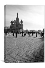 Red Square, Moscow, Canvas Print