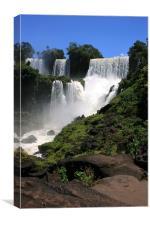 Iguazu Falls, Canvas Print
