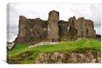 Carreg Cennen Castle, Canvas Print
