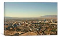 Las Vegas Skyline, Canvas Print