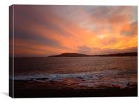 breiwick,lerwick,shetland, Canvas Print