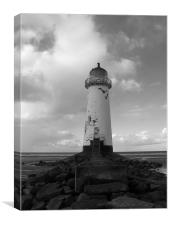 Talacra light, Canvas Print