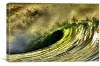 Wild Wave, Canvas Print