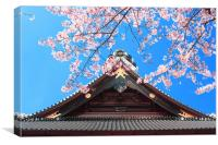 Spring in Japan, Canvas Print